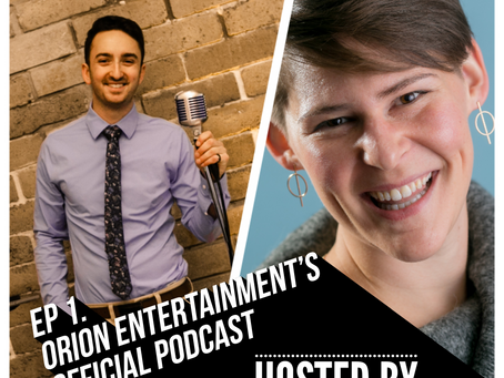 The Official Orion Entertainment Podcast is Ready for Takeoff!