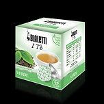 bialetti, italy in a glass, pods, tea, italian tea, pod machine, green tea, verde