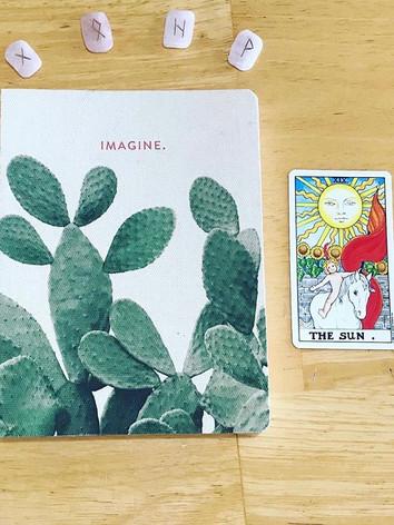 Self Care - Tarot, Journal, & Runes