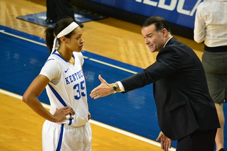 JAMIE VAUGHT:  Kentucky Has A New Star in Alexis Jennings Who Can Pump In Downtown Jumpers