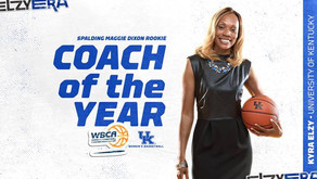 UK's Kyra Elzy Named NCAA Division I Rookie Coach of the Year