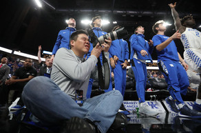 UK Alumnus Dr. Michael Huang Loves Capturing Photos at UK Sporting Events