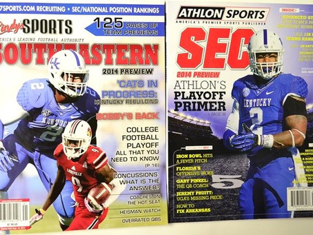 Athlon & Lindy's Yearbooks Predicting Another Struggling Season At UK