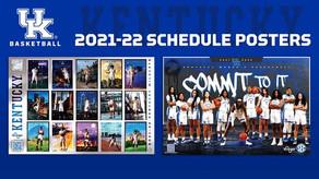 UK Men's & Women's Basketball Posters Released