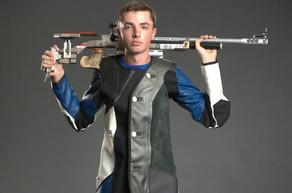 UK Senior Will Shaner Wins Gold in Men's Air Rifle