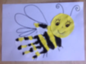 Handprint Bee finished.JPG