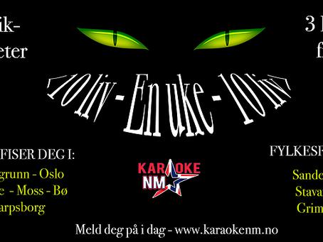 Karaoke NM Uke 23