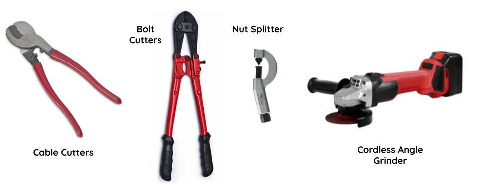 Current lock-breaking tools-of-choice