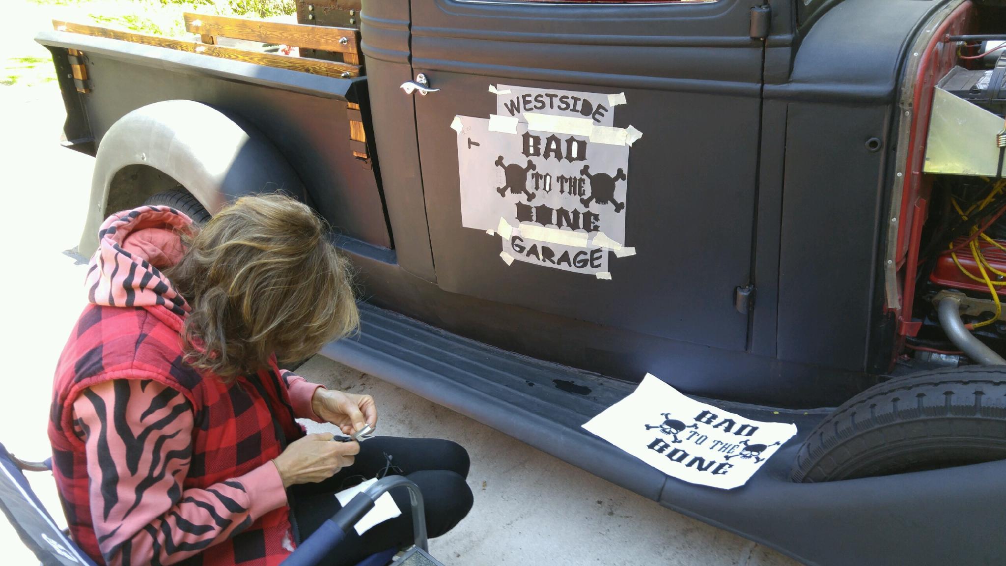 grafics on truck 3