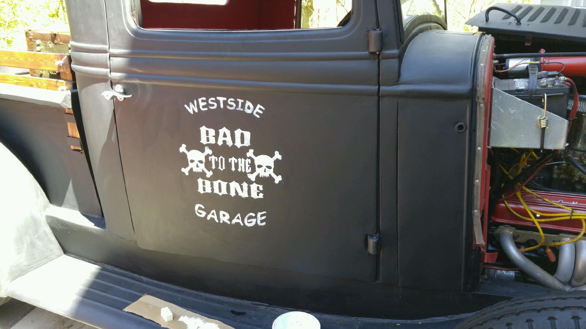 grafics on truck 2