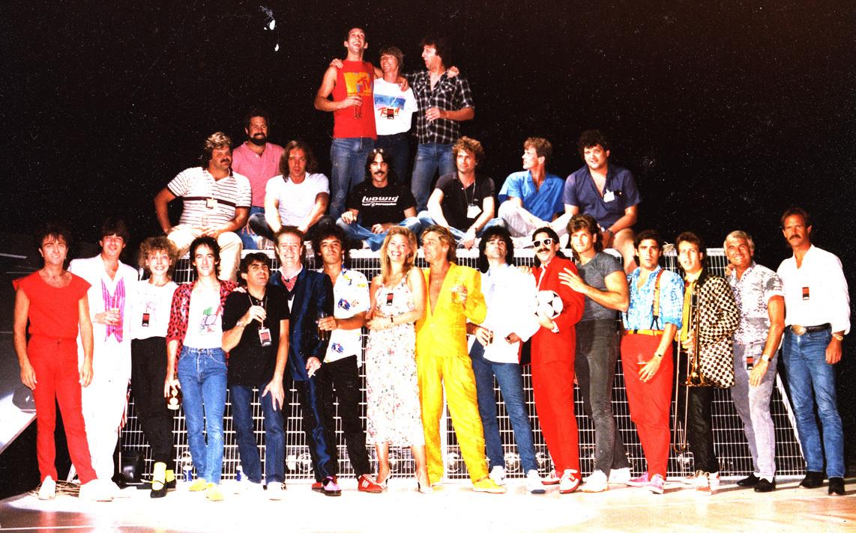 Jim C & The Rod Stewart Tour Band