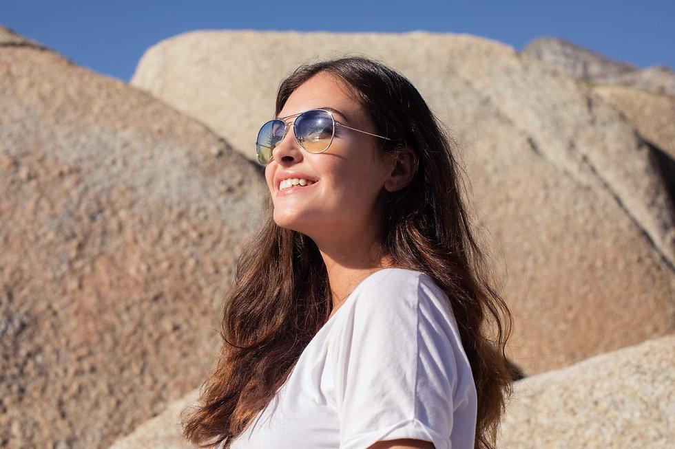 Image lunettes soleil femme, lunette Julia  a voir chez Clea Ricci