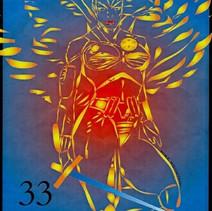 Angel 33 Stamp