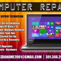 Doc's Computer Repair Flyer Side 1