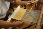 さき織り体験