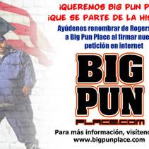 Big Punisher Flyer Front