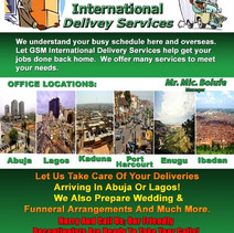 GSM International Flyer