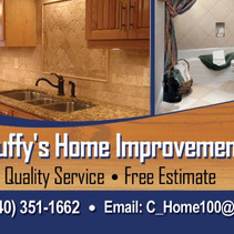 Home Improvement Business Card Front Design