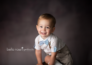 toddler boy portrait