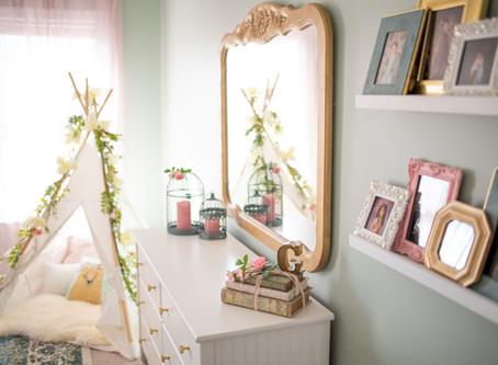 {Girls Room Makeover} Chesapeake, Virginia Newborn and Baby Photographer