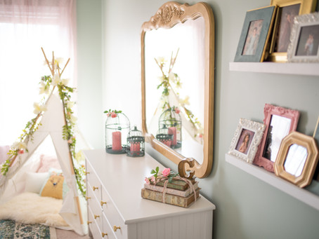 {Girls Room Makeover} Chesapeake, Virginia Newborn and Baby Photographer
