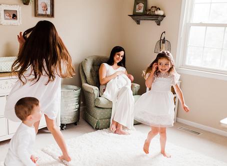 6 Ways to Support a Breastfeeding Mom |  Chesapeake, Virginia Newborn and Baby Photographer