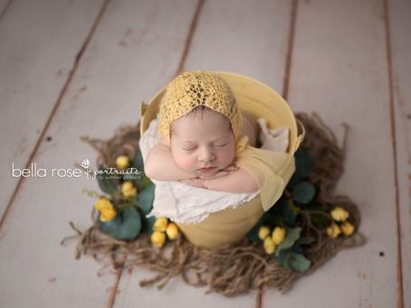 {Home Makeover and Baby Daphne} Chesapeake, Virginia Newborn and Baby Photographer