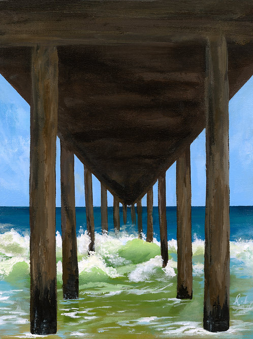 Under The Pier | Photographic Print