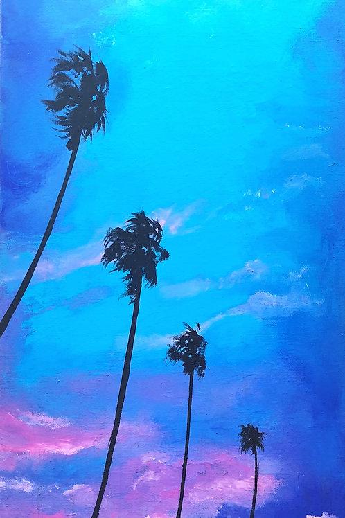Pink Storm | Original Painting