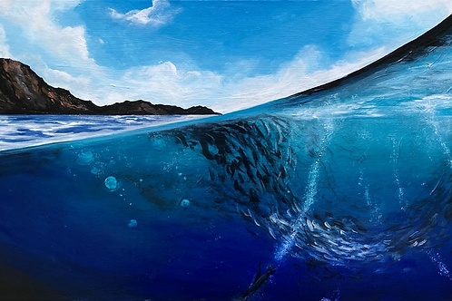 The Deep End | Original Painting