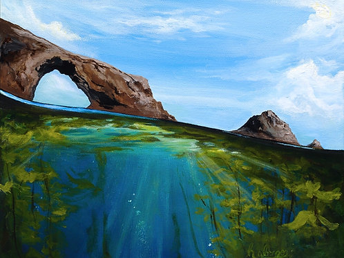 The Arch, Anacapa Is. | Original Painting