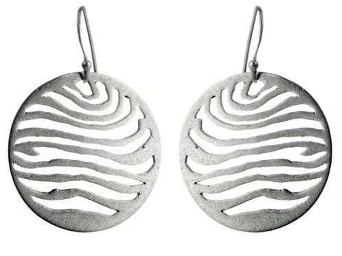 Sterling Silver Worlds Collide Earrings