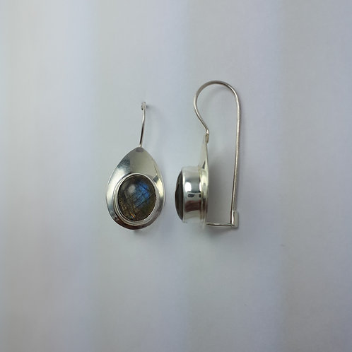 Sterling Silver with Labradorite Earrings