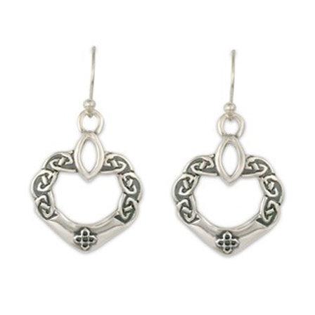 Sterling Silver Anam Cara Earrings
