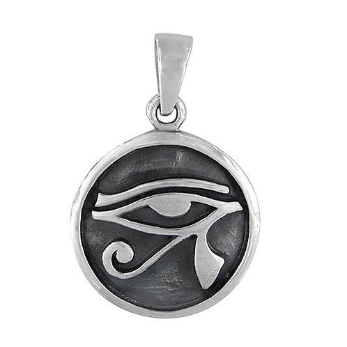 Sterling Silver Eye of Horus Pendant