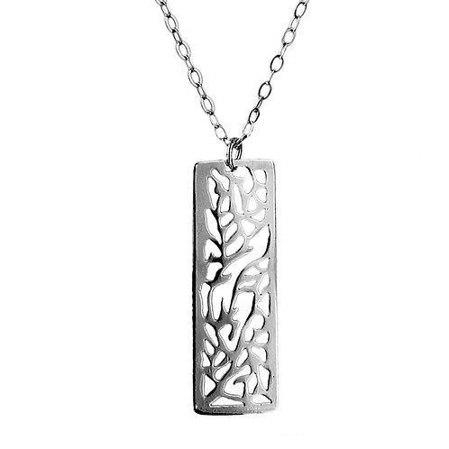 Sterling Silver Inner Strength Pendant Necklace