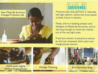 Empowering the survivor within us all – the Made By Survivors Story