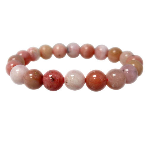Pink Opal 6mm Elastic Bracelet