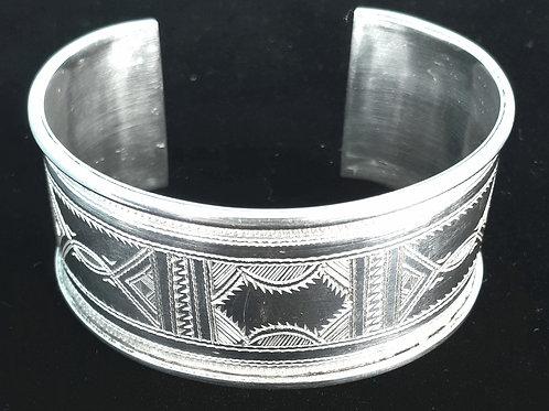 Sterling Silver Tuareg Cuff Bangle