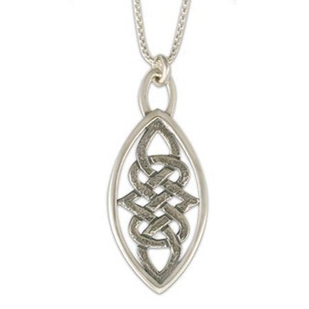 Sterling Silver Large Inverness Pendant