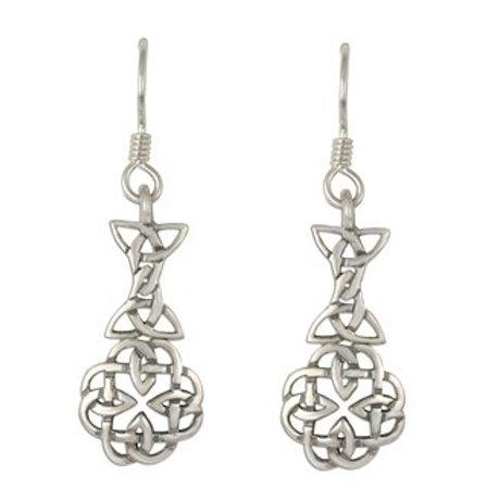 Sterling Silver Basket Aria Earrings
