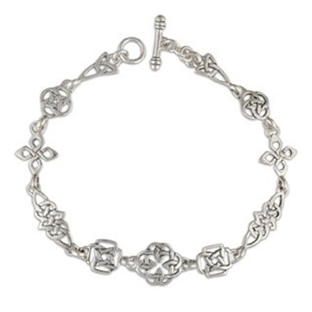 Sterling Silver Celtic Links Bracelet