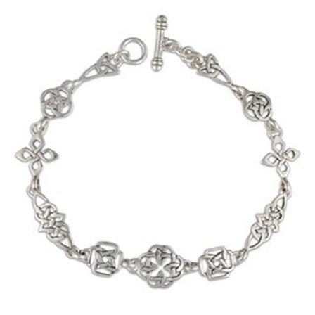Sterling Silver Celtic Links Bracelet