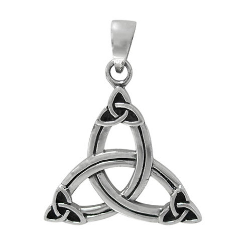 Sterling Silver Triquetra Knot Pendant