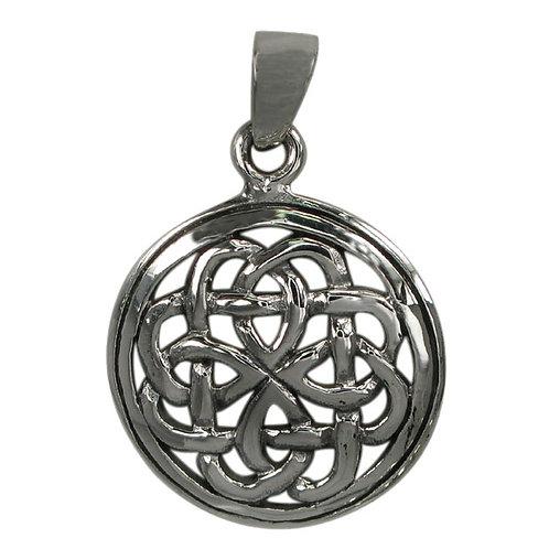 Sterling Silver Celtic Shield Pendant