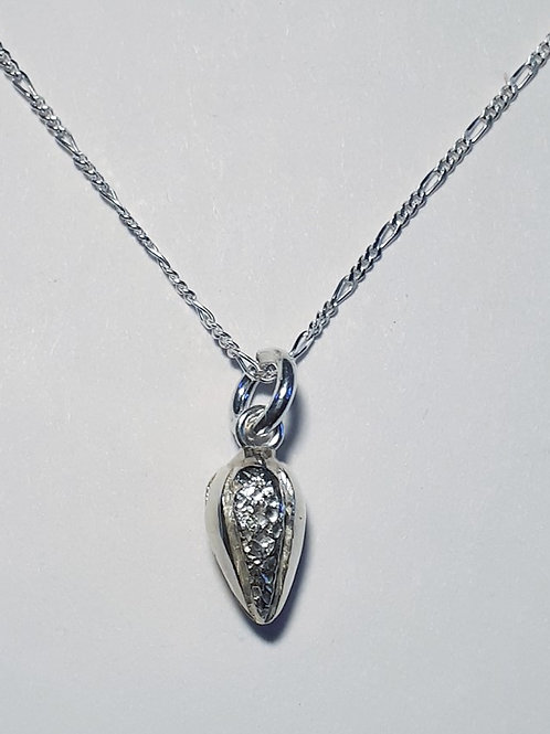 Sterling Silver Cocoa-themed Pendant