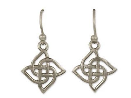 Sterling Silver Karasel Earrings