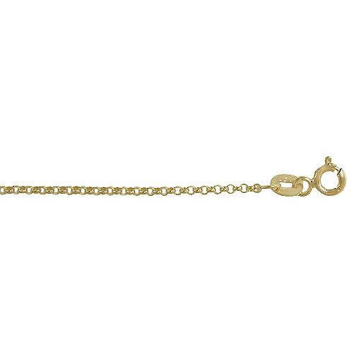 10K Yellow Gold Rolo Belcher chain CH183YG10K