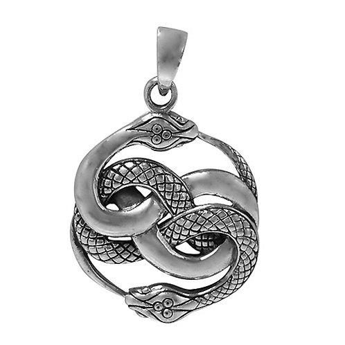 Sterling Silver Ouroboros Pendant