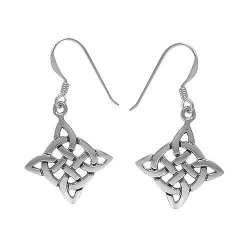 Sterling Silver Celtic Knot style Earrings